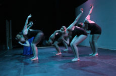 Mesilla Valley Dance Eclectic performs a modern dance piece choreographed by Rachel Goodman for their 2017 performance of Pandora's Box