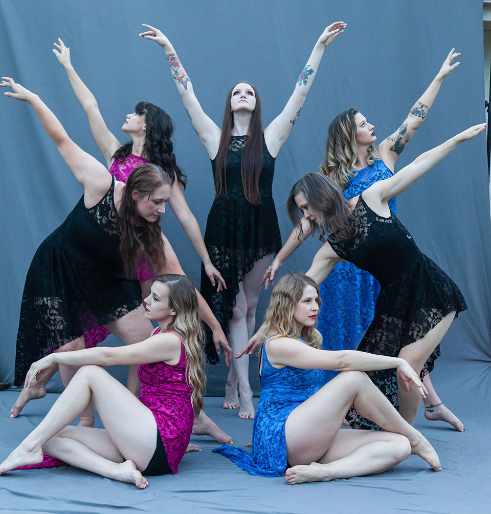 The members of The Dance Eclectic